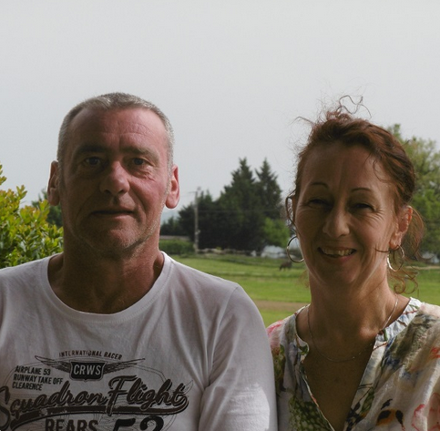 Monique et David Mesland
