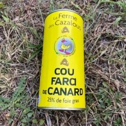 Boite de cou de canard Farci 300g