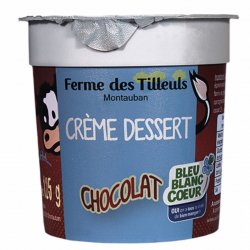 4 Crèmes desserts Chocolat