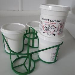 4 yaourts 100% lait de chèvre