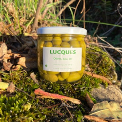 Olives de bouche Lucques en bocal
