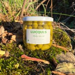 Olives de bouche Lucques en bocal