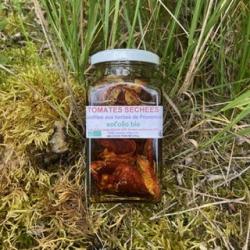Sot'Olio Bio Tomates séchées confites aux herbes de Provence  en bocal