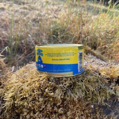 Boite de rillettes de canard des cazalous aux foies gras
