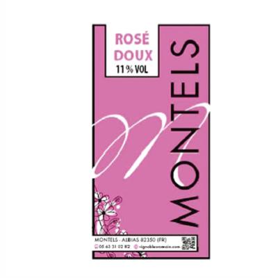 Rosé doux 11°