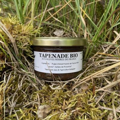 Tapenade Bio aux olives Noires de France