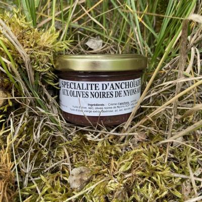 Spécialité d'Anchoïade aux olives noires de Nyons AOP