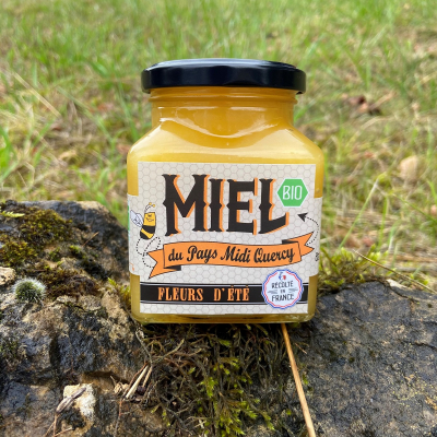 Miel de Fleurs d'été Bio du Pays Midi Quercy