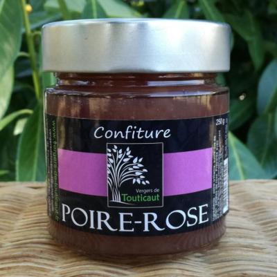 Pot de Confiture de Poire-Rose